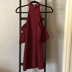 Nasty Gal Red Cocktail Dress